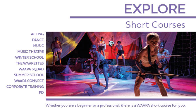 WAAPA ECU Short Courses