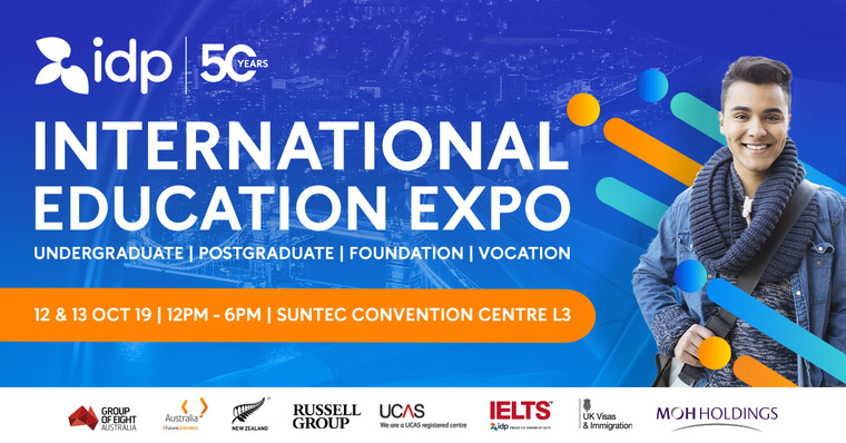 idp international education fair header