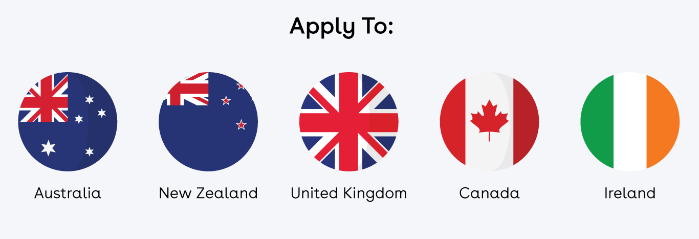 apply to destinations